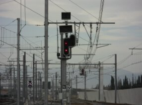 Sous-station signalisation ferroviaire - SNCF